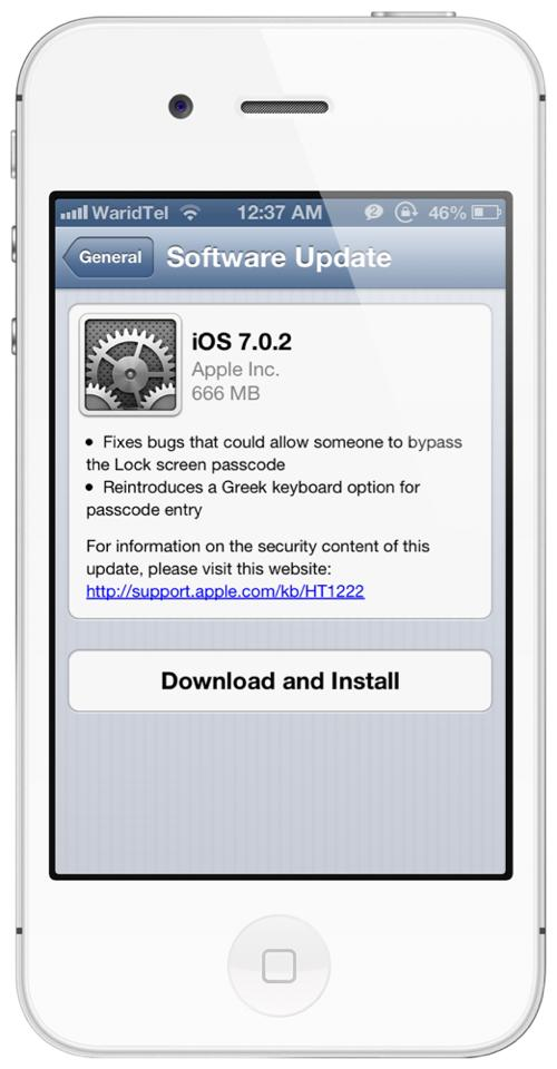 iOS 7 0 2 Download For iPhone 5s, 5, 4s, 4, iPad, iPod touch Released