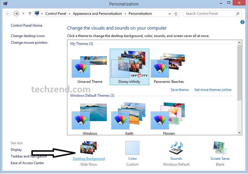 Personalization Window