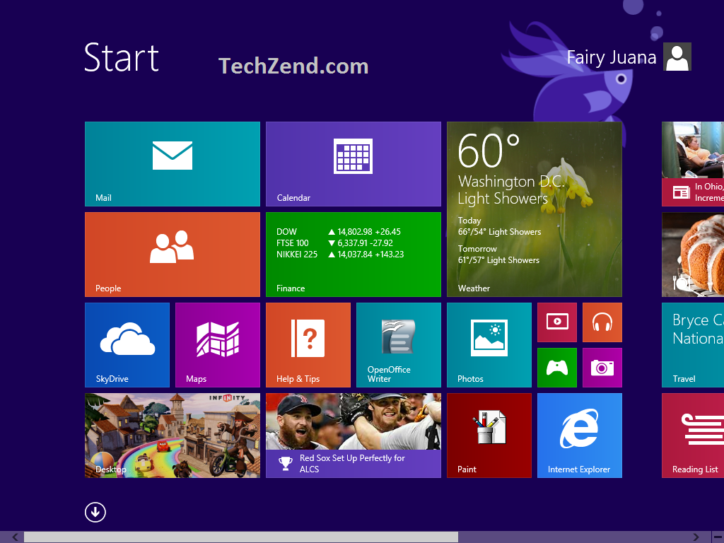 Disable Live Tiles Of Start Screen In Windows 8 1