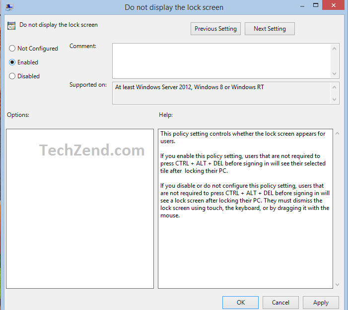 Disable Windows 8 1 Lock Screen via Group Policy Editor [How To]