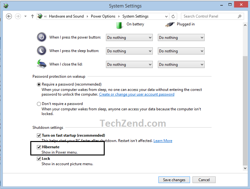 Enable Hibernate Option In Windows 81 How To