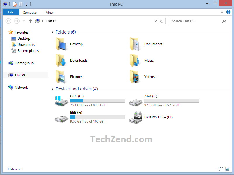 Windows Explorer without Ugly Line