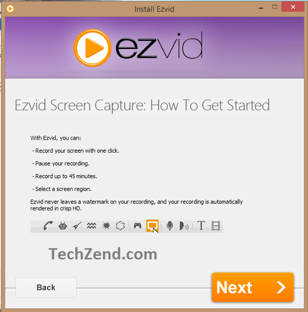 ezvid Screen Capturing ToolA
