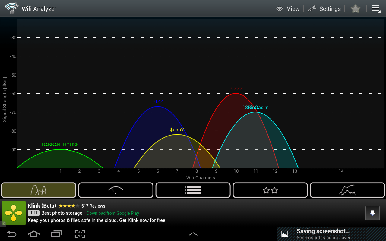 Wifi Analyzer for Android Helps you to Find Fastest Wifi