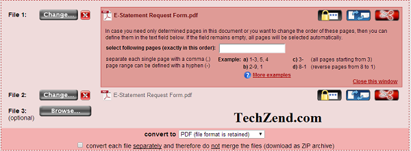 OnlinePDF Converter Uploading and Editing File-1