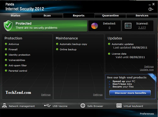 Panda Antivirus for Windows - 6