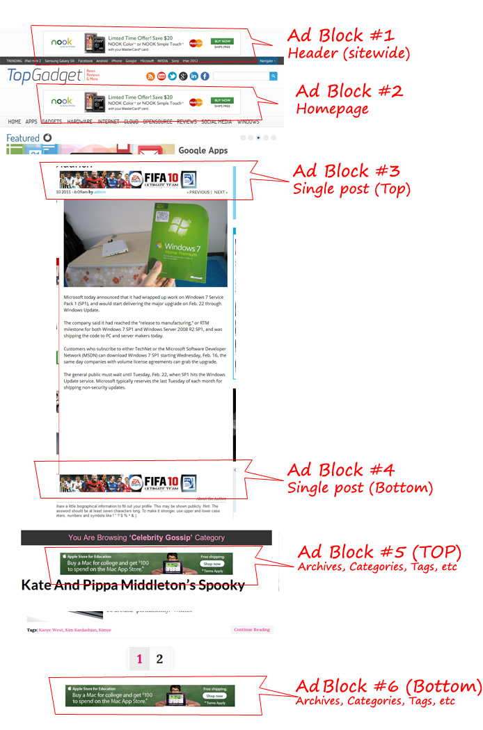 Ads placement magazine3 [Topgadget pro]