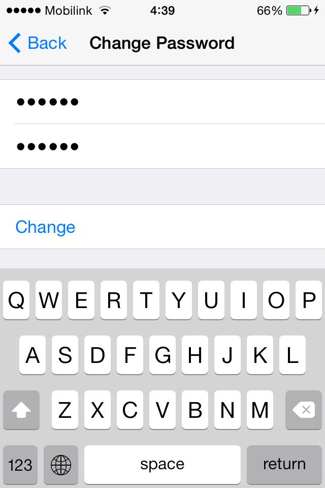 Change Password JRLocker
