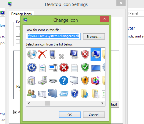how to make control panel on desktop