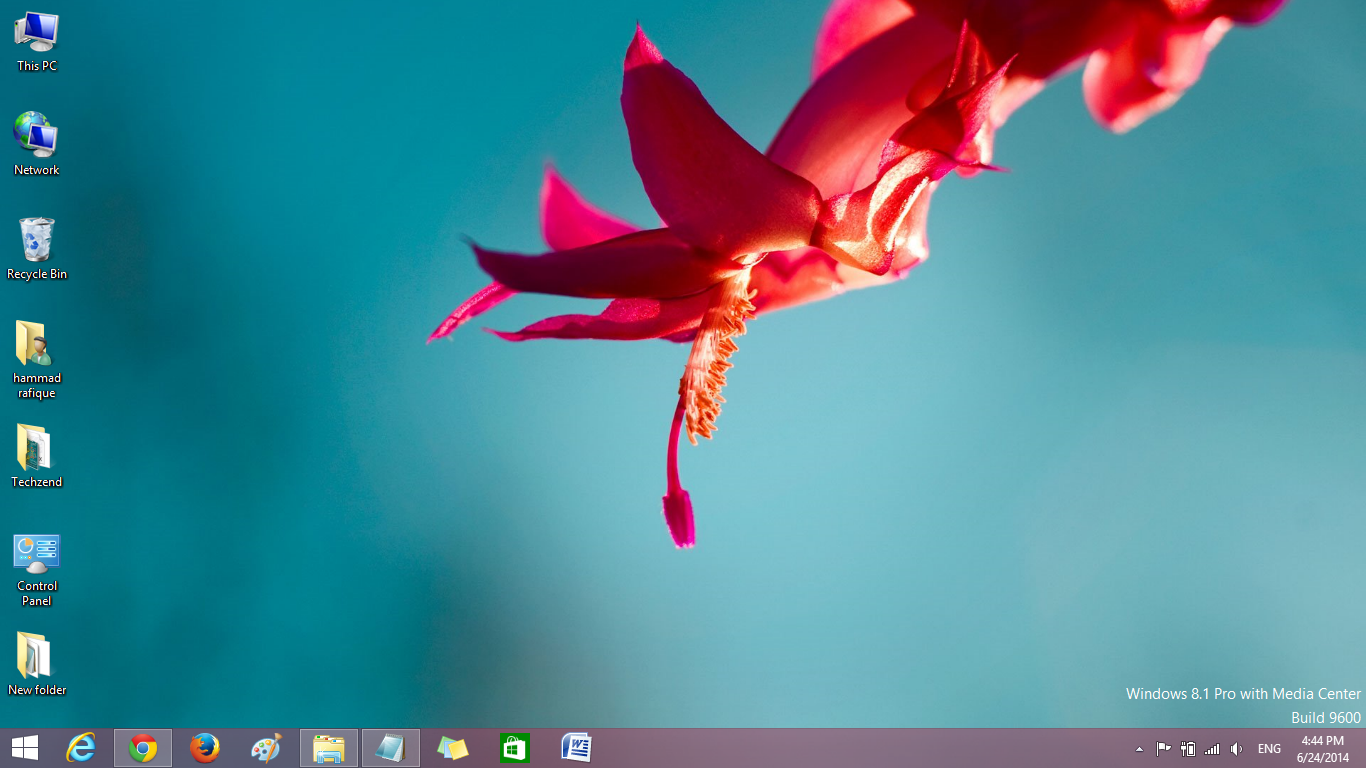 Desktop icons windows 8.1