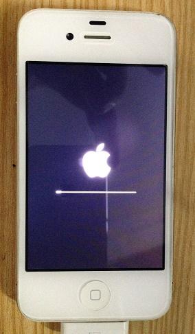 Restoring iPhone 4