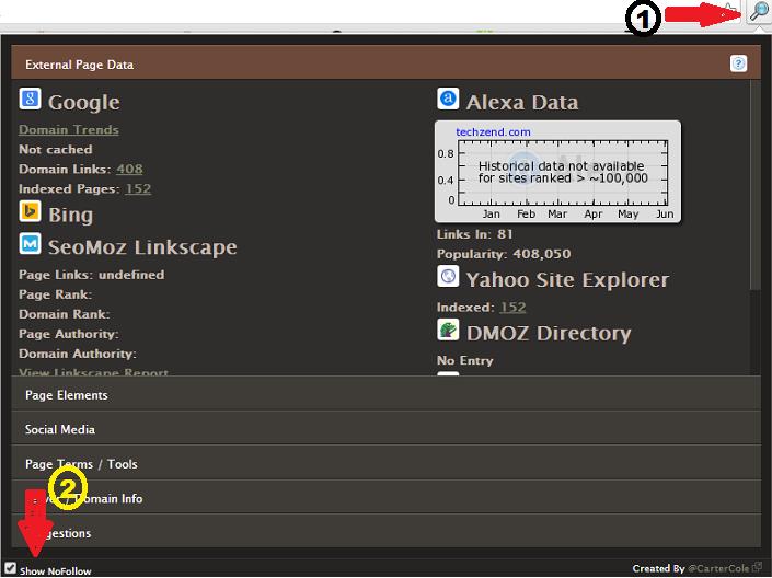 SEO Site Tools Chrome Extension