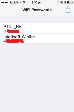 Reveals Wifi Password