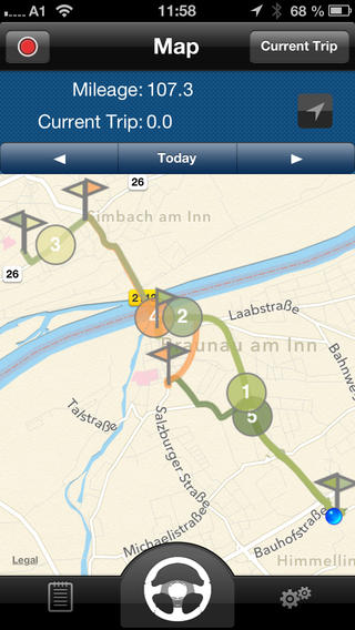 Automatic GPS Mileage Tracker4