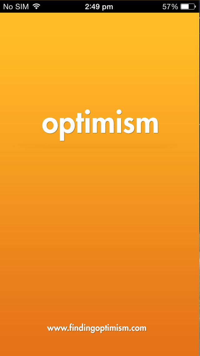 Optimism iOS app
