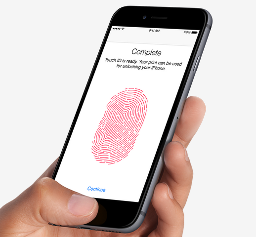 iPhone 6 Fingerprint Features