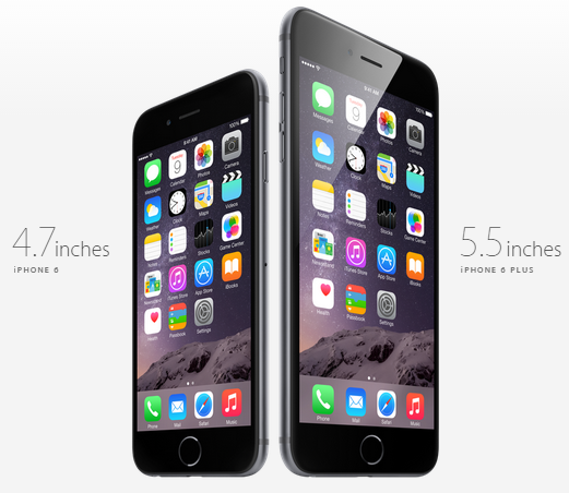 "Biggest iPhone 6 Plus 5.5 Inch"" Screen"