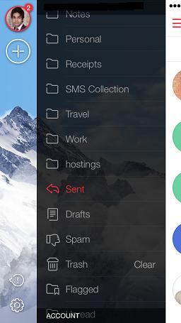 MyMail iOS 8