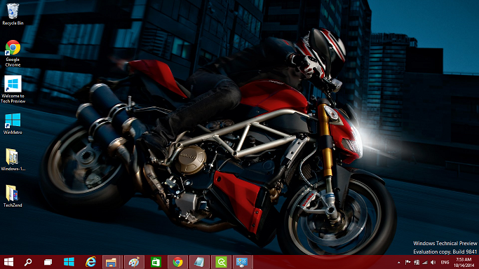 Ducati theme for Windows