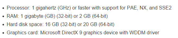 Windows 10 System Requirements [Official]