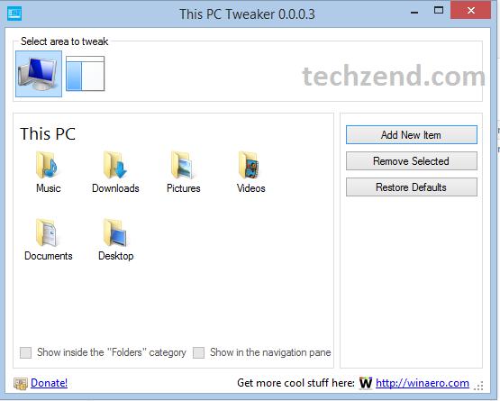 This PC Tweaker for SkyDrive
