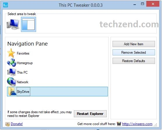 Remove SkyDrive Option