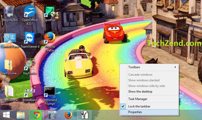 Apply Desktop Background to Start Screen 1