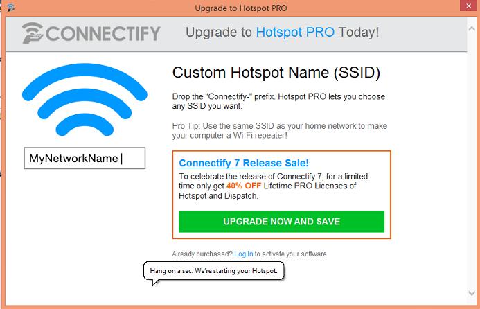 setup connectify