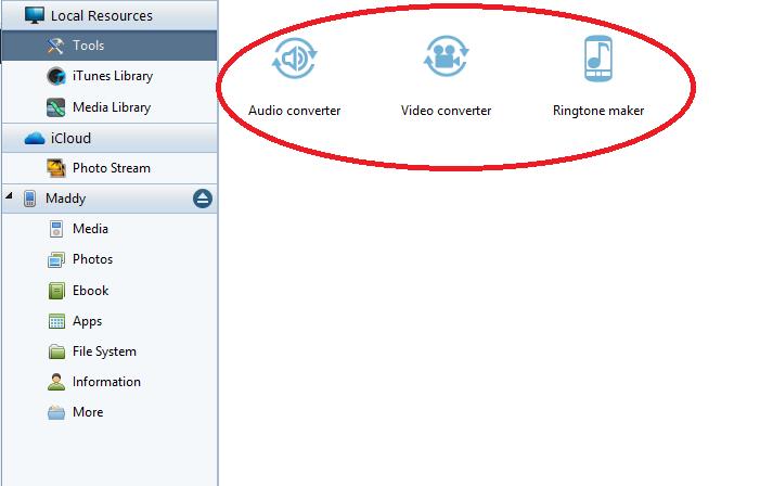 Audio, video converters