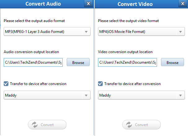 Covert to iOS format