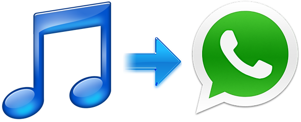 Send music via whatsapp