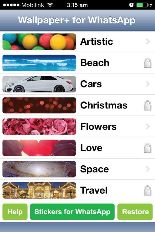 Wallpaper+ iOS App
