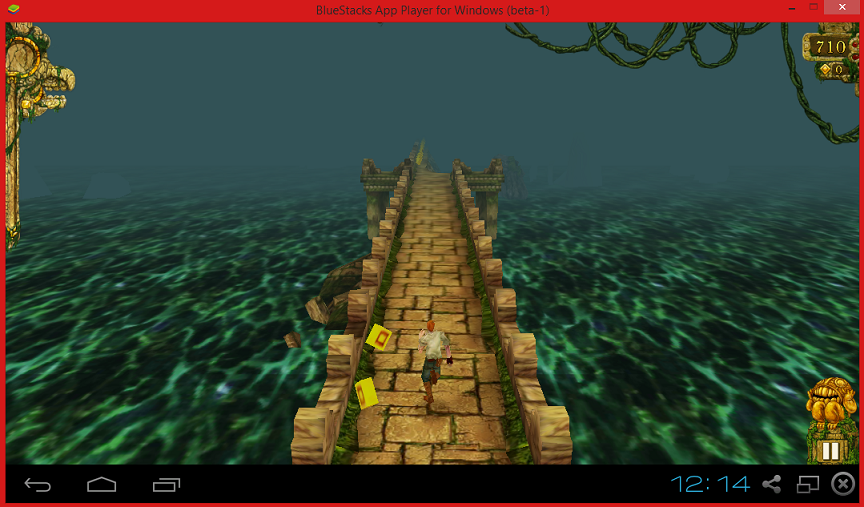 Playing Temple Run on PC