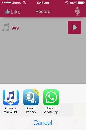Shareapp iOS