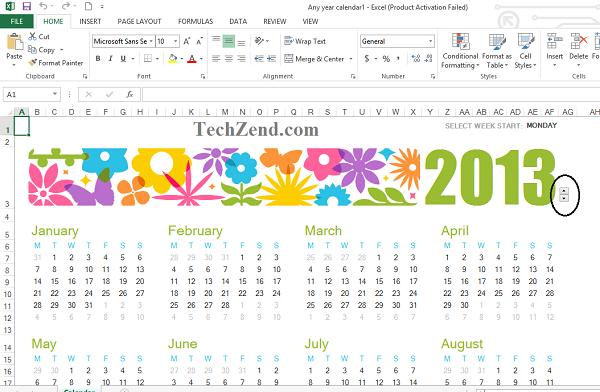 Calendar Formatting-5A