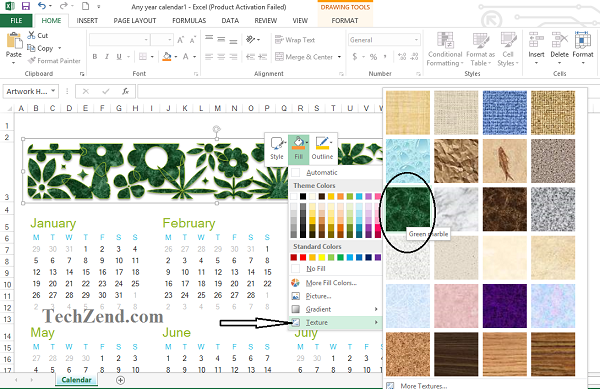 Calendar Formatting-5C