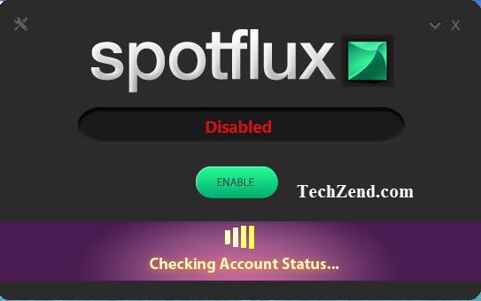 Spotflux-connecting