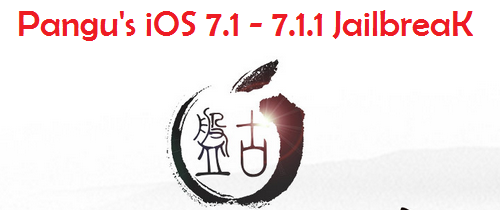 Jailbreak iOS 7.1/7.1.1 Untethered with Pangu 1.0