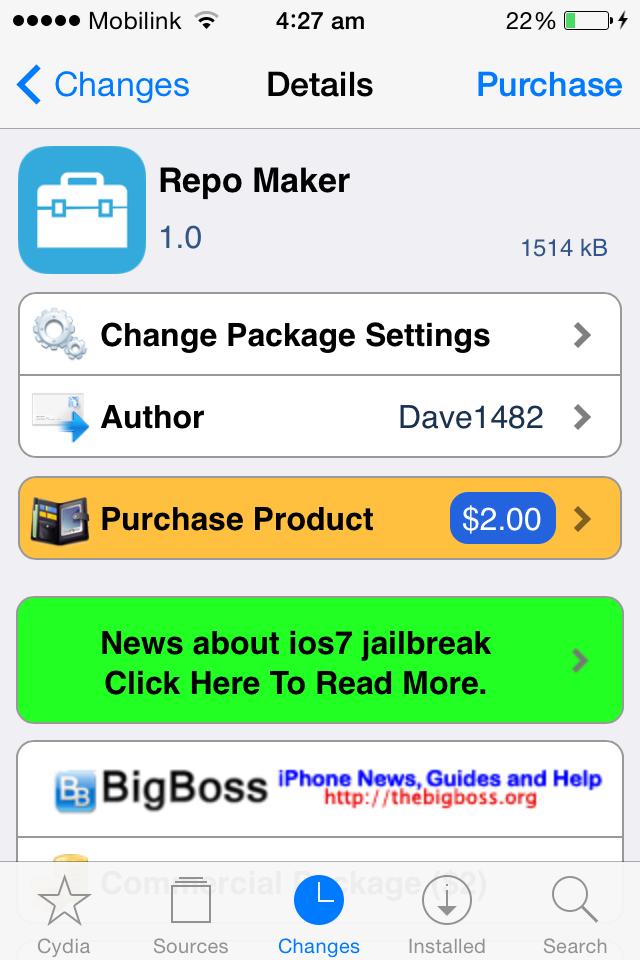 Repo Maker [Jailbreak Utility]