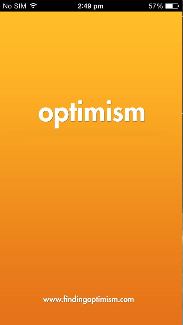 Optimism iOS app