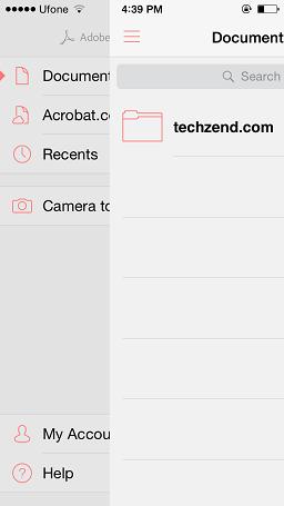 Adobe Reader iOS 8