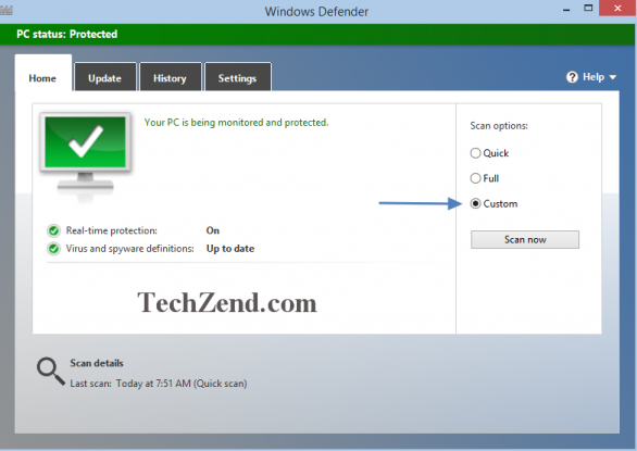 Windows Defender Native
